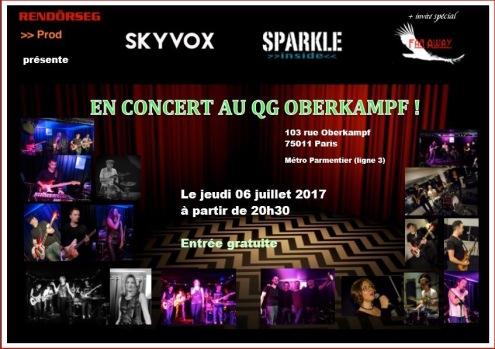 concert SKYVOX et SPARKLE INSIDE